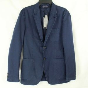 Tommy Hilfiger Men's Blue Casual Blazer 2 Button